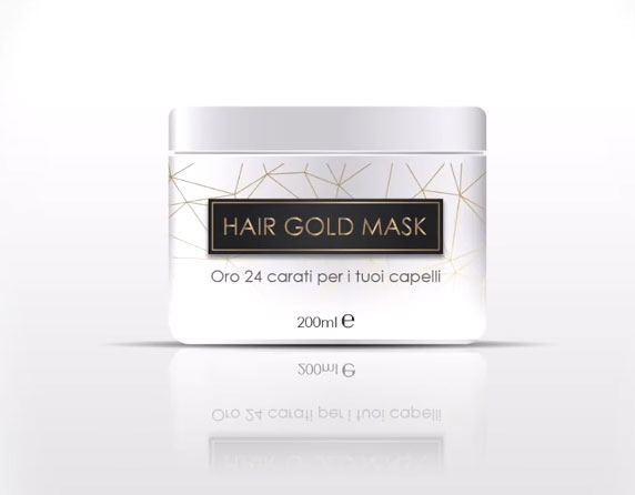 Hair Gold Mask 24k